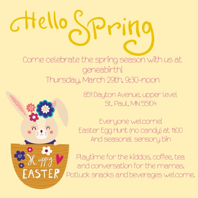 easter party invite